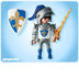 playmobil gallant knight bluewhite shield coordinates
