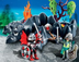 playmobil dragon rock compact knights prepare