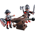 playmobil knights crossbow medieval armor ready
