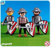 playmobil black lion knights note item