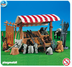 playmobil knight market stand please note