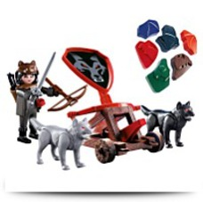 5889 Knights Playset Wolf Knight