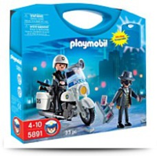 Police Carrying Case Playset